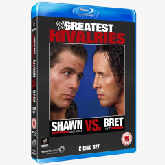 Shawn Michaels vs. Bret Hart - WWE's Greatest Rivalries Blu-ray