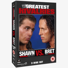 Shawn Michaels vs. Bret Hart - WWEs Greatest Rivalries DVD