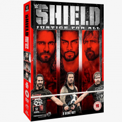 WWE The Shield - Justice for All DVD