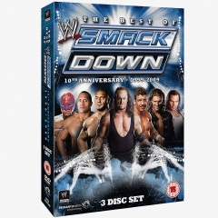 Best of WWE Smackdown 10th Anniversary 1999-2009 DVD