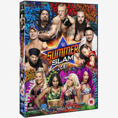 WWE SummerSlam 2017 DVD