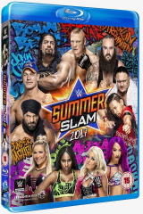 WWE SummerSlam 2017 Blu-ray