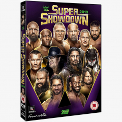 WWE Super Showdown 2019 DVD