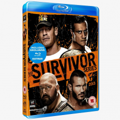 WWE Survivor Series 2013 Blu-ray