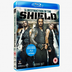WWE The Destruction of The Shield Blu-ray