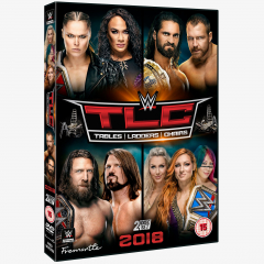 WWE TLC: Tables, Ladders & Chairs 2018 DVD