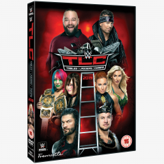 WWE TLC Tables Ladders & Chairs 2019 DVD