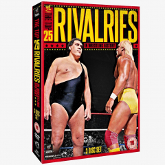 WWE The Top 25 Rivalries In Wrestling History DVD