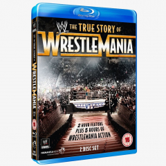 WWE The True Story of WrestleMania Blu-ray