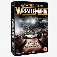 WWE The True Story of WrestleMania DVD
