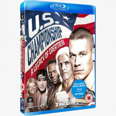 WWE United States Championship: A Legacy of Greatness Blu-ray