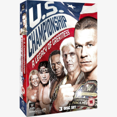 WWE United States Championship: A Legacy of Greatness DVD
