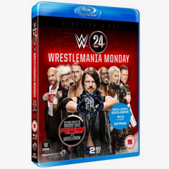 WWE WrestleMania Monday Blu-ray