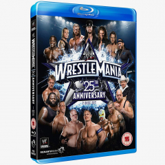 WWE WrestleMania 25 Blu-ray