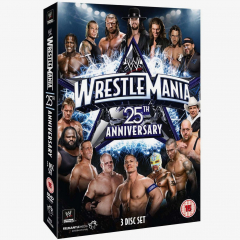 WWE WrestleMania 25 DVD