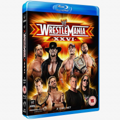WWE WrestleMania 26 Blu-ray