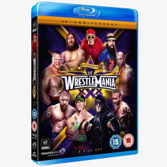 WWE WrestleMania 30 Blu-ray