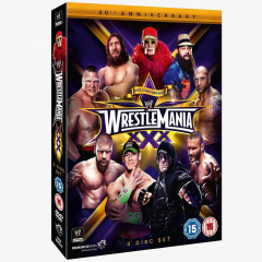 WWE WrestleMania 30 DVD