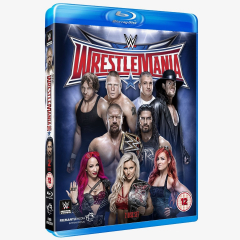 WWE WrestleMania 32 Blu-ray