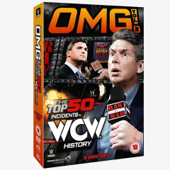 WWE OMG! Volume 2 - The Top 50 Incidents in WCW History DVD