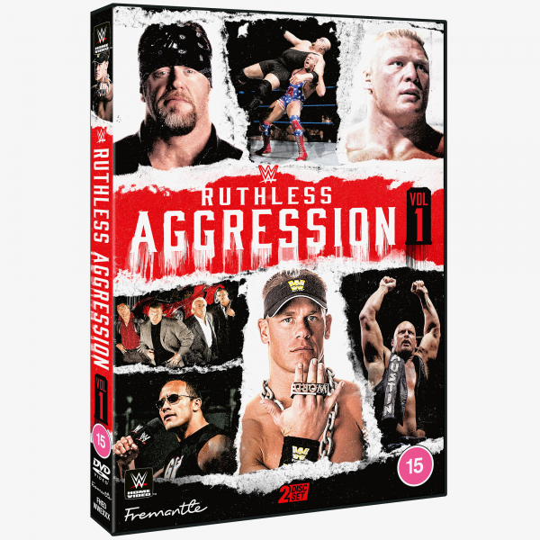 WWE Ruthless Aggression Vol 1 DVD