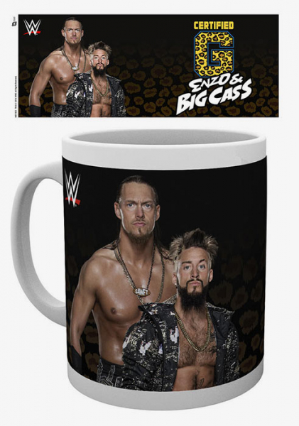 Enzo & Big Cass WWE 10 oz. Mug