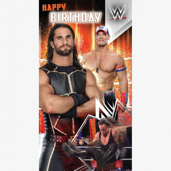 WWE Happy Birthday Card #1