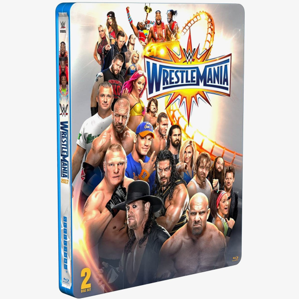 WWE WrestleMania 33 Blu-ray (Limited Edition Steelbook)
