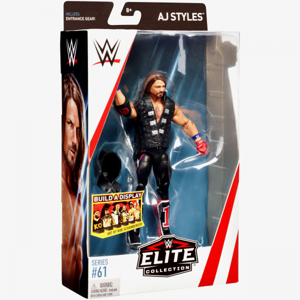 AJ Styles WWE Elite Collection Series #61