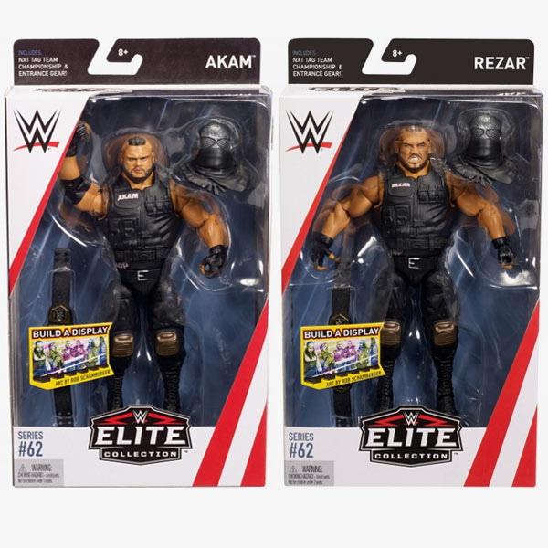 Authors of Pain AOP (Akam & Rezar) WWE Elite Collection Series #62