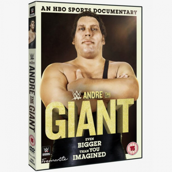 Andre The Giant - Even Bigger Than You Imagined DVD