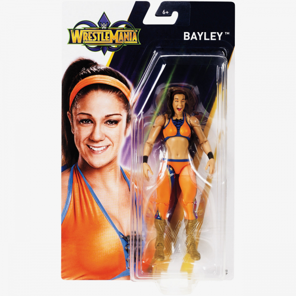 Bayley - WWE WrestleMania 34 Basic Series
