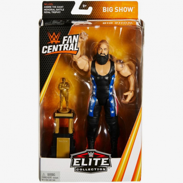 Big Show WWE Fan Central Elite Collection Series #1