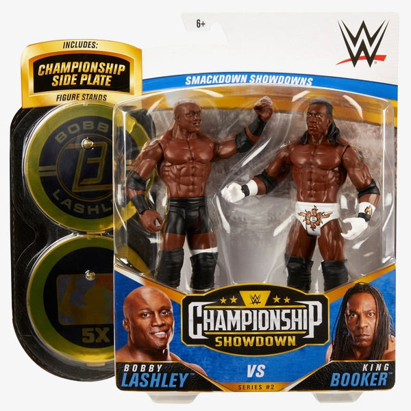 Bobby Lashley & King Booker T - WWE Championship Showdown 2-Pack Series #2