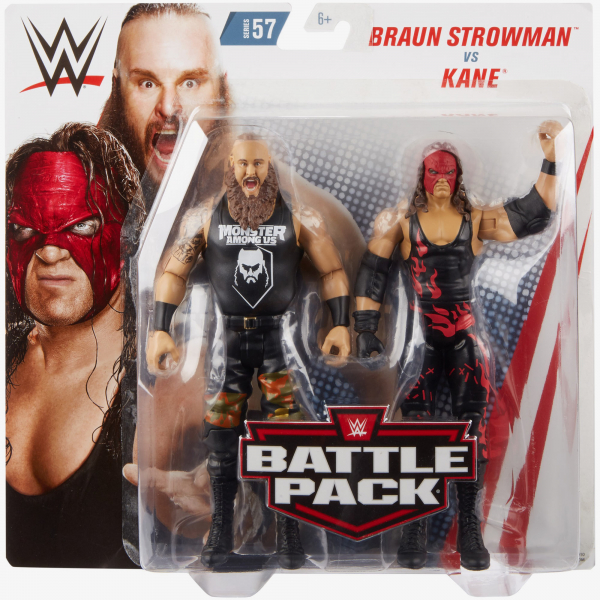 Braun Strowman & Kane - WWE Battle Pack Series #57