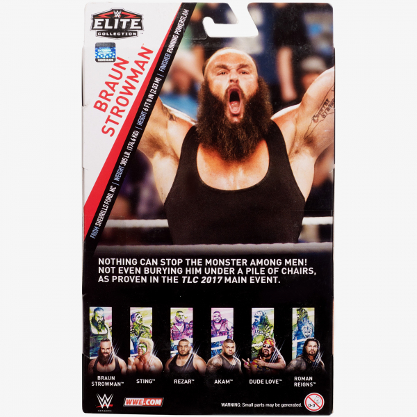 Braun Strowman WWE Elite Collection Series #62