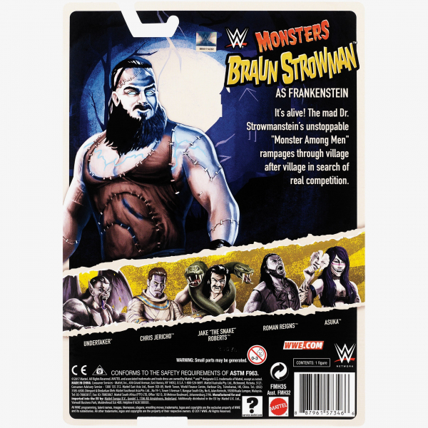Braun Strowman WWE Monsters Series #1