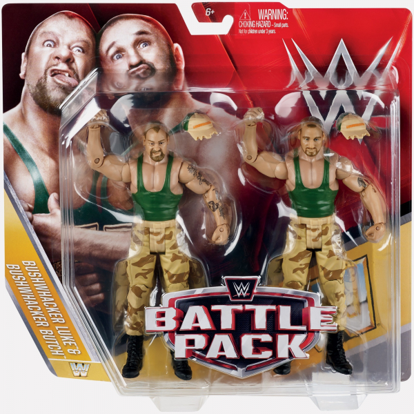 The Bushwackers - WWE Battle Pack Series #40