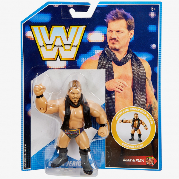 Chris Jericho WWE Retro App Series #7 [Damaged packaging]