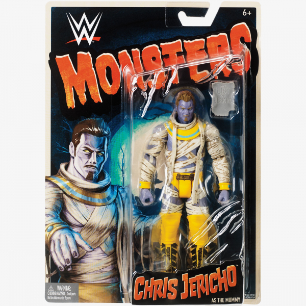 Chris Jericho WWE Monsters Series #1