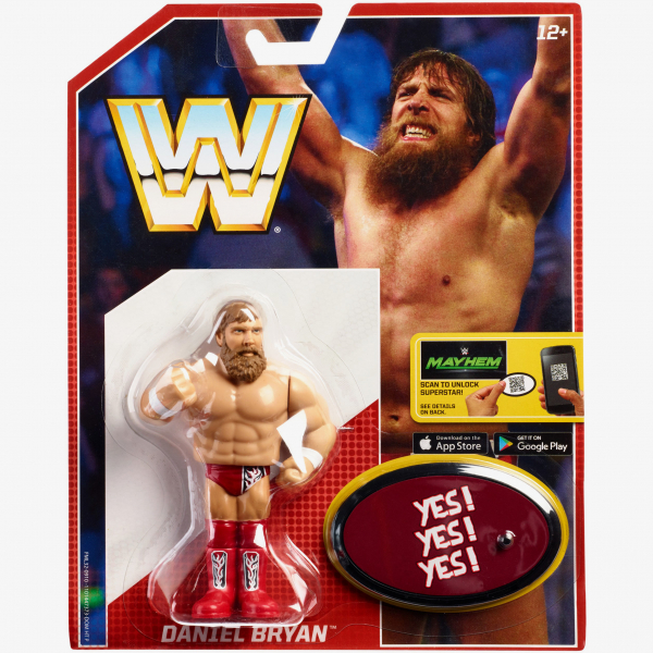 Daniel Bryan WWE Retro App Series #6 [Damaged packaging]