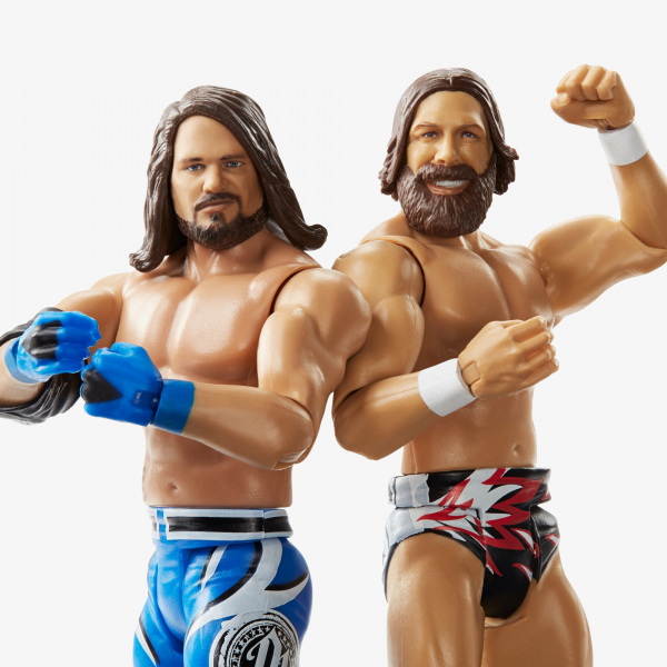 AJ Styles & Daniel Bryan - WWE Battle Pack Series #61