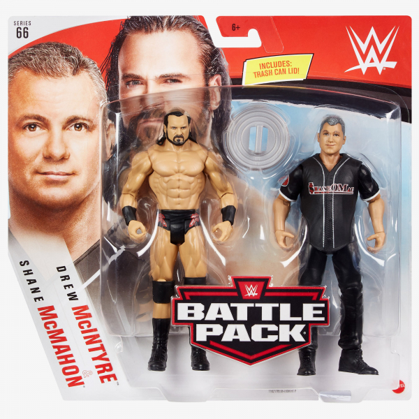 Drew McIntyre & Shane McMahon - WWE Battle Pack Series #66