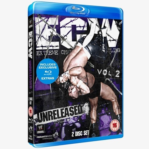 ECW Unreleased Vol. 2 Blu-ray