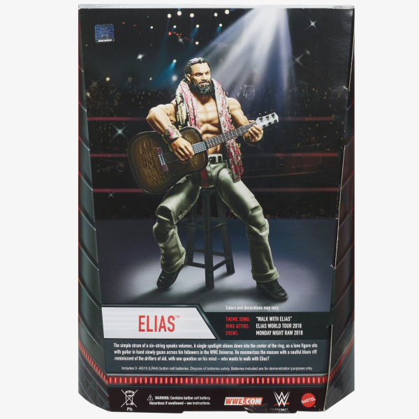Elias WWE Entrance Greats