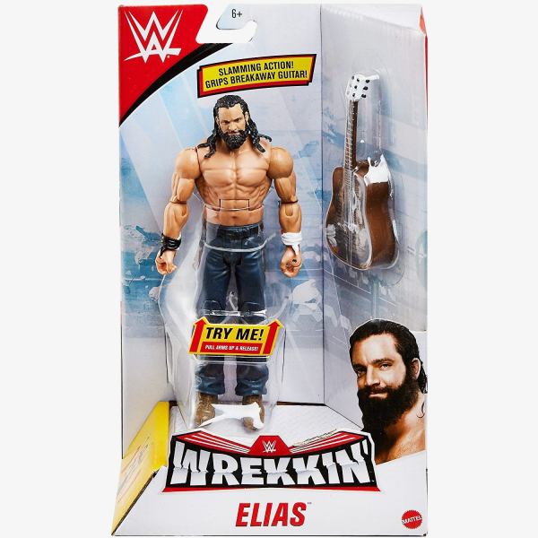 Elias WWE Wrekkin' Figures Series (With Guitar)