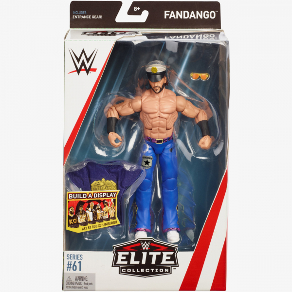 Fandango WWE Elite Collection Series #61