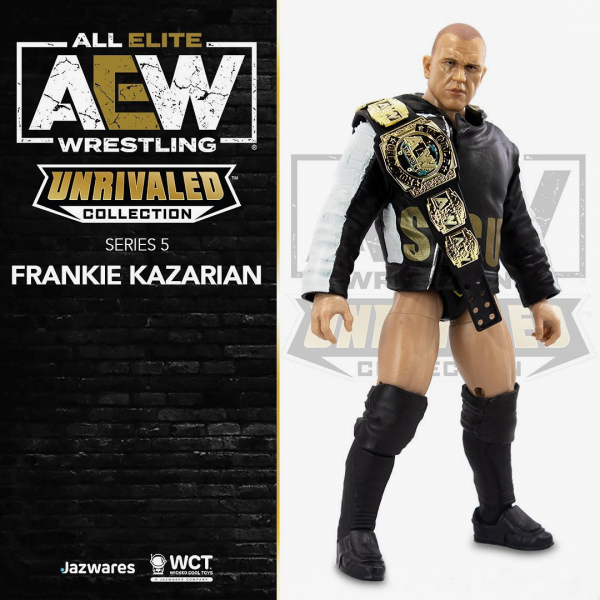 Frankie Kazarian - AEW Unrivaled Collection Series #5