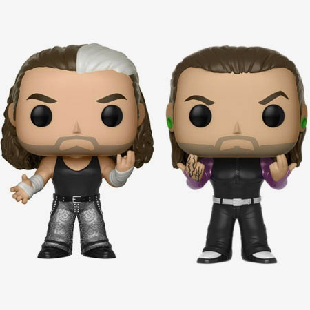 Matt Hardy & Jeff Hardy (Hardy Boyz) WWE POP! 2-Pack