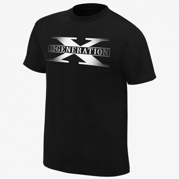 D-Generation X -  Two Words Men's WWE Retro T-Shirt